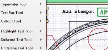 <Strong> Lägg till kommentarer och anteckningar till dokument </strong> <br> <br> Lägg till kommentarer och anteckningar till dokument i olika format, inklusive geometriska former, textrutor, hyperlänkar och ljudfiler.