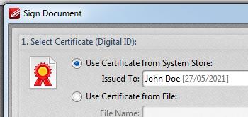 <Strong> Säkra filer </strong> <br> <br> Njut av <strong> 40/128 bit RC4 </strong> och <strong> 128/236 bitars AES-kryptering </strong> som maximerar din dokumentsäkerhet. Inherent <strong> Data Execution Protection </strong> funktionen sparar dina filer från skadlig skadlig kod och virus. Använd digitala signaturer för att ytterligare förbättra din säkerhet och lägg till tidsstämpelserververifiering som önskat.
