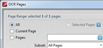 <Strong> OCR-dokument </strong> <br> <br> Använd OCR-motorn för att konvertera bildbaserade/skannade filer till textsökbara PDF-dokument. Finns på flera språk.
