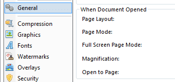 <Strong> Använd dynamiska alternativ för att förbättra PDF-filer </strong> <br> <br> Använd flexibla utskriftsalternativ, använd omfattande funktioner för jobbhantering, använd Batched och Watched mappkonvertering av MS Office-dokument till PDF och mycket mer.