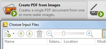 <Strong> Skapa PDF-filer </strong> <br> <br> Skapa PDF-filer från alla branschstandardformat, bildfiler och/eller textfiler. Extrahera sidor från flera källor till en ny PDF-fil.