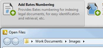 <Strong> Förbättra PDF-filer </strong> <br> <br> Lägg till/ta bort Bates Numrering, rubriker och sidfot, vattenstämplar och bakgrunder från PDF-filer. Ändra dokumentegenskaper, konvertera till PDF/A eller PDF/X-format, extrahera bilder och dela/sammanfoga PDF-filer.